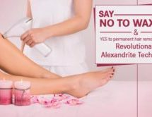 Permanent Hair Removal With the Revolutionary Alexandrite Technology